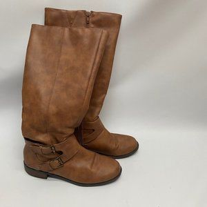"""Unlisted Brown Boots """"Can you Spare"""" - sz 7.5"""